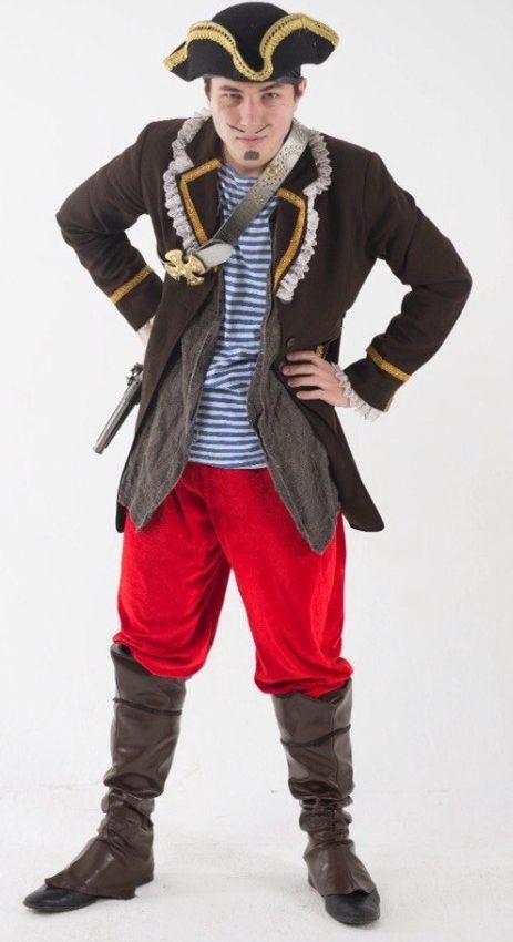 детский праздник в стиле пиратов