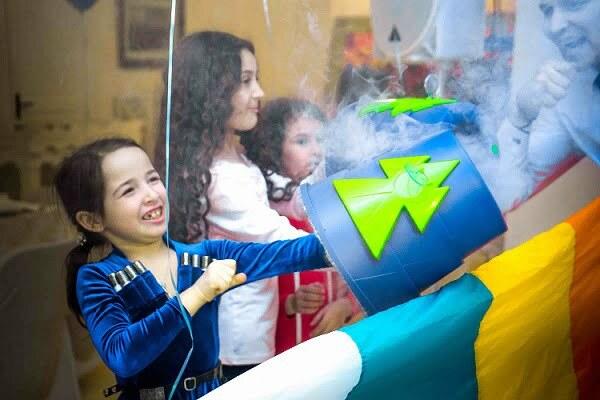 Фото с детского праздника