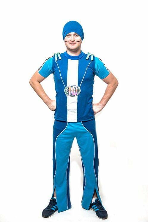 Adult sportacus costume