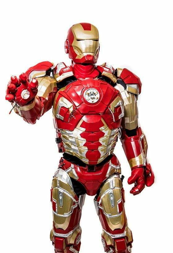 Аниматор Железный Человек