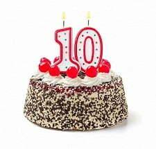 День Рождение ребенка 10 лет