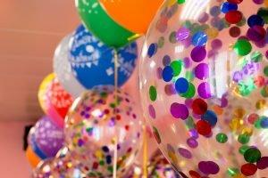 Украшение праздника шарами