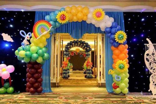 оформление праздников шарами