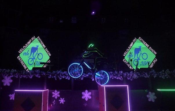 Велошоу на праздник