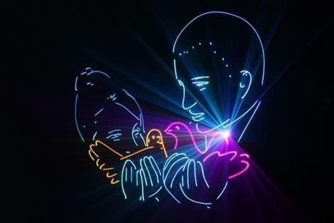 Организация лазерного шоу