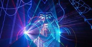 Лазерное шоу заказать на корпоратив