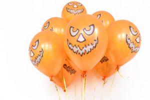 Оранжевые шары на Хэллоуин Party Pups